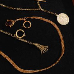 Řetízky k hodinkám | Old pocket watch chains