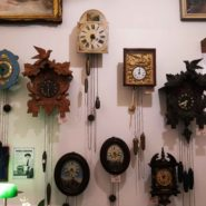 Black Forest Clocks at Clock Gallery in Prague