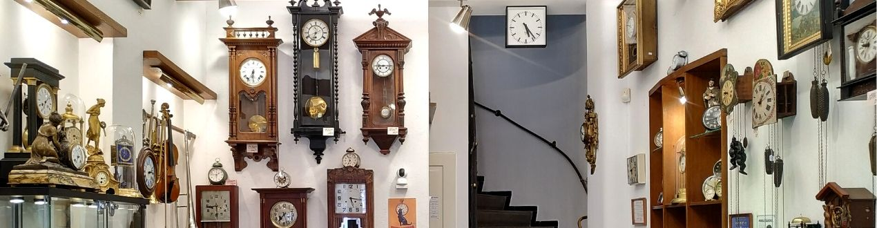 Prostory Clock Gallery v Praze