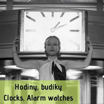 Hodiny, budíky | Clocks, alarm clocks