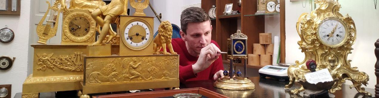 Jan Štěpánek v Clock Gallery v Praze