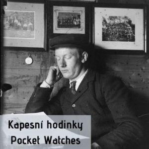 Starožitné kapesní hodinky na prodej - Clock gallery Praha
